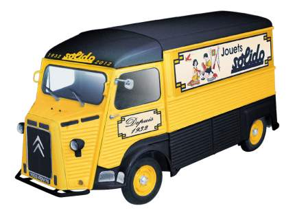 Автомобиль Solido Citroen HY 80th anniv. 1:43