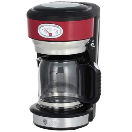 Кофеварка капельного типа Russell Hobbs Retro Ribbon Red 21700-56