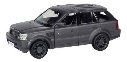 Машина металлическая Uni-Fortune 1:32 Range Rover Sport инерционная черный матовый