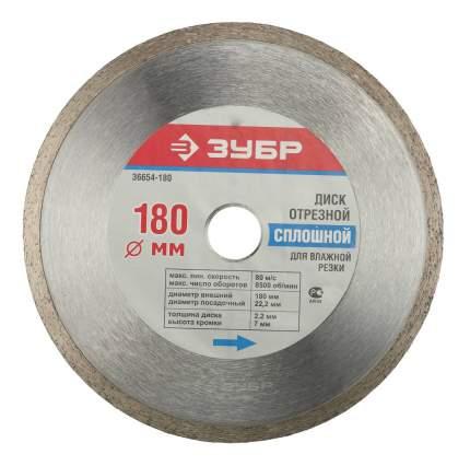 Отрезной диск по камню для угловых шлифмашин Зубр 36654-105