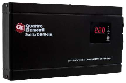 Стабилизатор напряжения QUATTRO ELEMENTI Stabilia 1500 W-Slim 772-579