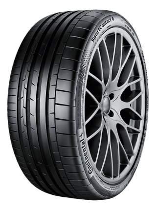Шины Continental SportContact 6 295/30ZR22 103Y XL FR (357200)