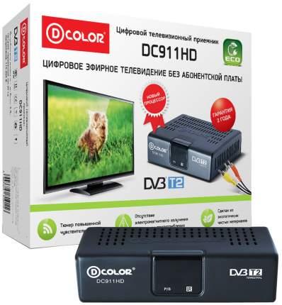 DVB-T2 приставка D-Color DC911HD ECO Black