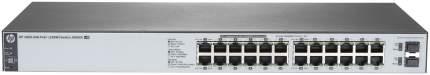 Коммутатор HP OfficeConnect 1820 1820-24G-PoE+ J9983A Серый, черный