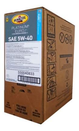 Моторное масло Pennzoil Platinum Euro 5w-40 22,7л