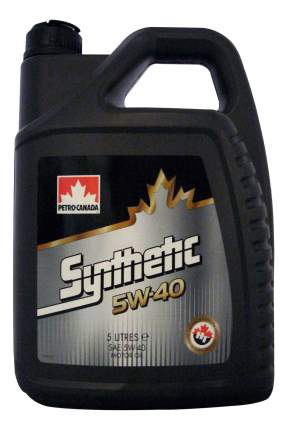 Моторное масло Petro-canada Europe Synthetic 5W-40 5л
