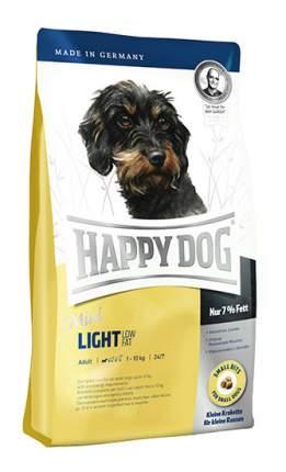 Сухой корм для собак Happy Dog Supreme Mini Light, мелкие породы, лосось, ягненок,яйца,1кг