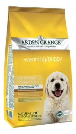 Сухой корм для щенков Arden Grange Weaning/Puppy, курица,  2кг