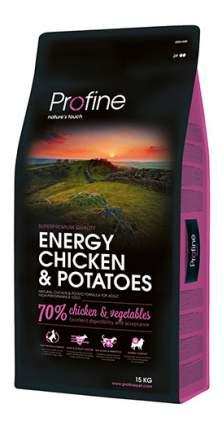 Сухой корм для собак Profine Energy Chicken & Potatoes, курица, картофель, 15кг