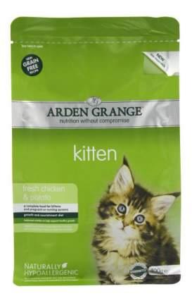 Сухой корм для котят Arden Grange Kitten беззерновой, курица, 0,4кг