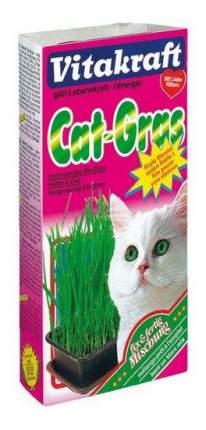 Лакомство для кошек Vitakraft смесь для проращивания свежей травы, 120г