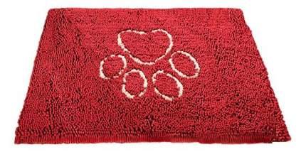 Коврик для собак Dog Gone Smart Doormat супервпитывающий размер M 51х79см красный