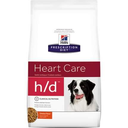 Сухой корм для собак Hill's Prescription Diet h/d Heart Care, конина, 5кг