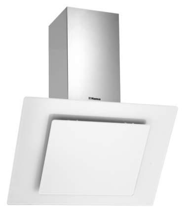 Вытяжка наклонная Hansa OKP 6521 SWH White/Silver