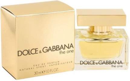 Парфюмерная вода DOLCE&GABBANA The One for Woman 30 мл