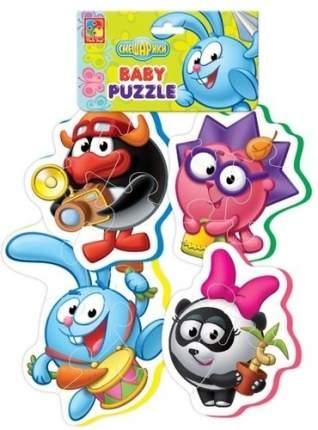 "Мягкий пазл VLADI TOYS Baby puzzle ""Смешарики"" (VT1106-47)"
