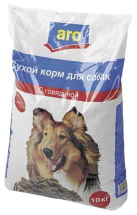 Сухой корм для собак Aro, говядина, 10кг