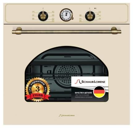 Встраиваемый электрический духовой шкаф Schaub Lorenz SLB EB6860 Beige