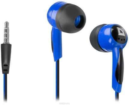 Наушники Defender Basic 604 Blue/Black