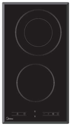 Встраиваемая варочная панель электрическая Midea MCH 32329 F Black