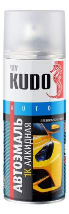 Эмаль автомобильная ремонтная сливочно-белая, KUDO ,520 мл