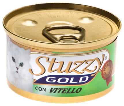 Консервы для кошек Stuzzy Gold, телятина, 85г