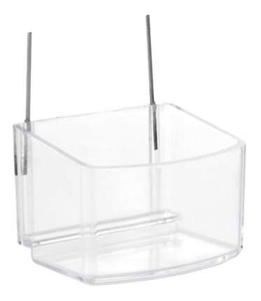Одинарная миска для грызунов Beeztees, пластик, прозрачный, 0.1 л