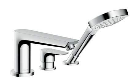 Смеситель для ванны на борт Hansgrohe Talis E 71731000 хром