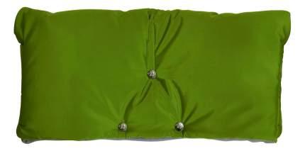 Муфта для рук мамы на детскую коляску Чудо-Чадо Флисовая (на липучке) зеленый