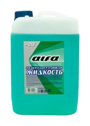 Жидкость стеклоомывателя зимняя Alfa 4л