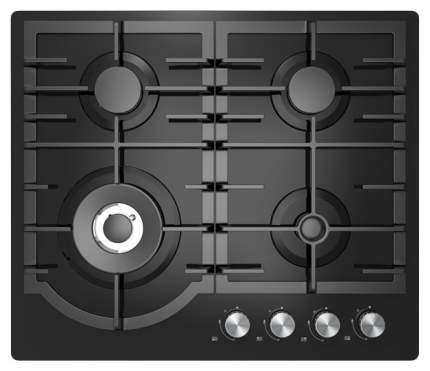 Встраиваемая варочная панель газовая Midea MG696TGB Black