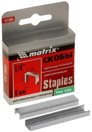 Скобы для электростеплера MATRIX 41306