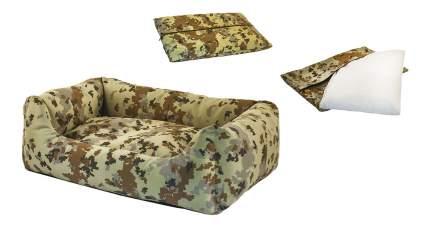 Лежанка для кошек и собак Дарэлл 33x45x14см коричневый