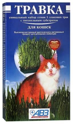 Травка для кошек АВЗ в лотке