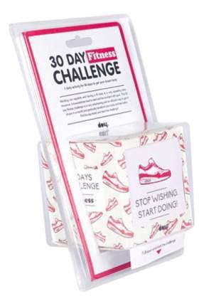 Семейная настольная игра DOIY 30 дней фитнеса