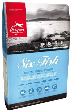 Сухой корм для кошек Orijen Six Fish, 6 видов рыбы, 2кг