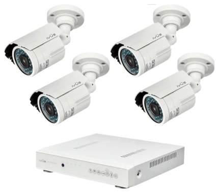 Система видеонаблюдения IVUE Дача 4+4 IVUE-D5004 AHC-B4