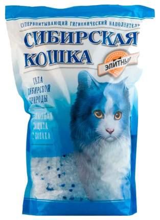 Впитывающий наполнитель для кошек Сибирская кошка Элита силикагелевый, 7.3 кг, 16 л