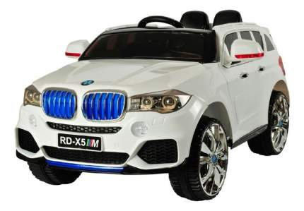 Электромобиль 1TOY BMW X5M белый т11043