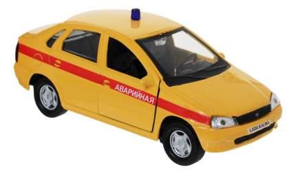 Машина спецслужбы Autotime Lada Kalina Аварийная 1:34