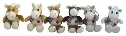 Брелок мягкая лошадка с сердечком 13 см Snowmen Е94350