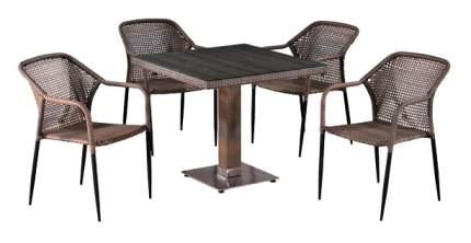 Комплект мебели Afina Garden T503SG/Y35G-W1289 Pale (4+1)