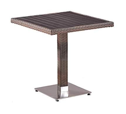 Стол Afina T502DG-W1289-70х70 Pale (декинг)