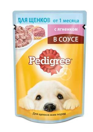 Влажный корм для щенков Pedigree Vital, ягненок, 24шт, 85г