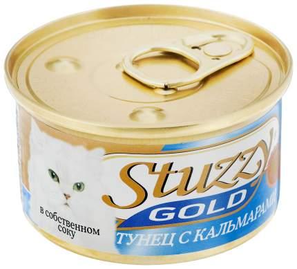 Консервы для кошек Stuzzy Gold тунец с кальмарами в собственном соку 85 г