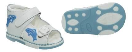 Сандалии Таши Орто Дельфины белые с голубым 17 размер