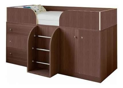 Кровать-чердак РВ мебель Астра 5 дуб шамони