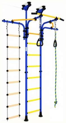 Детский спортивный комплекс Карусель R5 (ДСКМ-2-8,06,Т1,410,03-14) сине/жёлтый