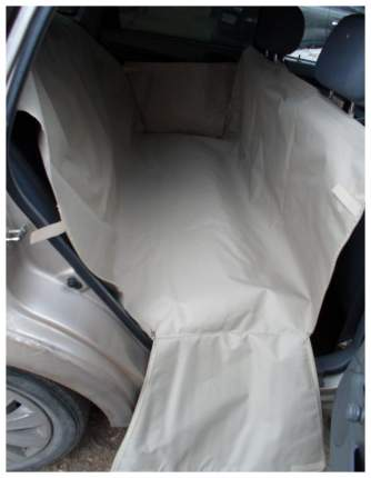 Автогамак для перевозки собак с мягкой защитой дверей MAXI (бежевый)