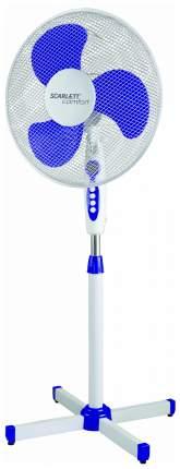Вентилятор напольный Scarlett SC-SF111B11 white/violet